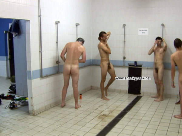 Straight naked guys in shower hidden cam