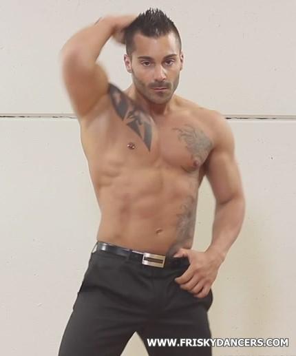 spanish male stripper